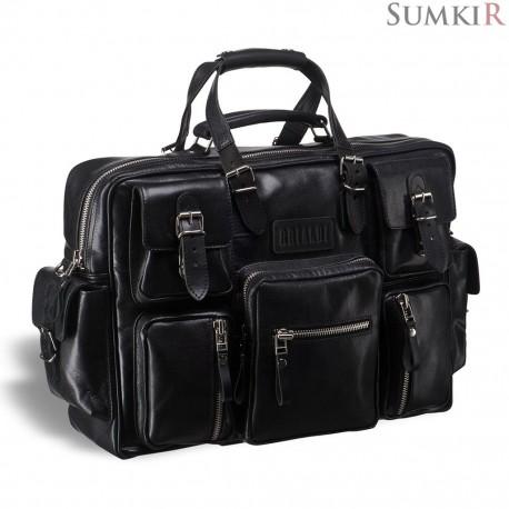 Brialdi Norfolk (Norfolk) black Деловая сумка для командировок