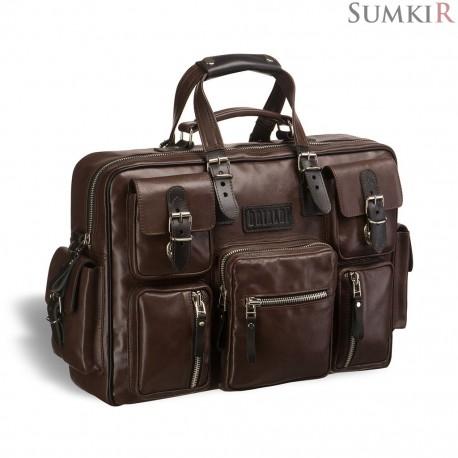 Brialdi Norfolk (Norfolk) brown Деловая сумка для командировок