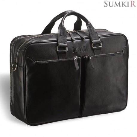Brialdi Benton (Бентон) black Вместительная деловая сумка