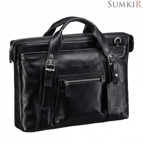 Brialdi Navara (Навара) black деловая сумка