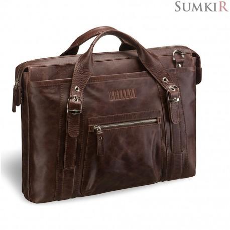 Brialdi Navara (Навара) antique brown деловая сумка