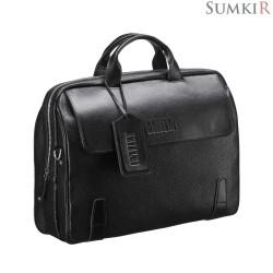 Brialdi Seattle (Сиэтл) black Деловая сумка для города