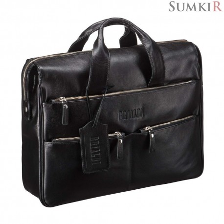 Brialdi Manchester (Манчестер) black Вместительная деловая сумка