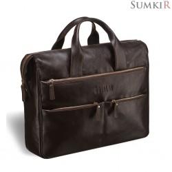 Brialdi Manchester (Манчестер) brown Вместительная деловая сумка