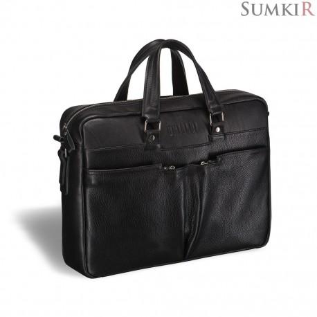 Brialdi Lakewood (Лэйквуд) black Вместительная деловая сумка
