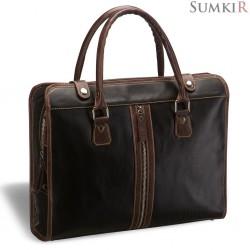 Briadli Carrara (Каррара) black Деловая сумка