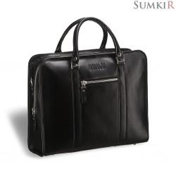Brialdi Davenport (Давенпорт) black Деловая сумка
