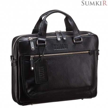 Brialdi York (Йорк) black Деловая сумка