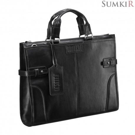 Brialdi Bristol (Бристоль) black Деловая сумка