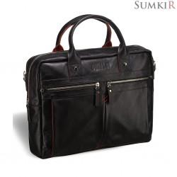 Brialdi Stamford (Стэмфорд) black Деловая сумка