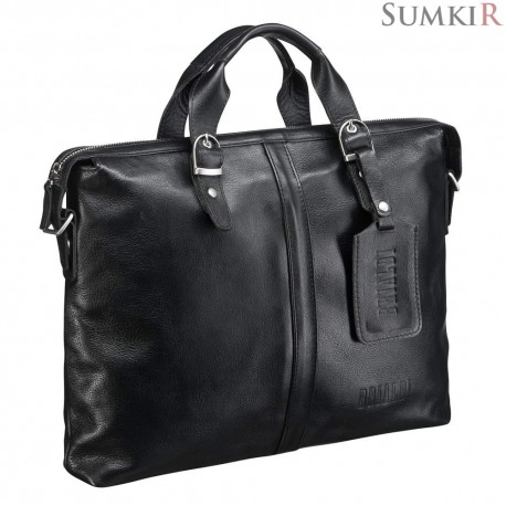 Brialdi Denver (Денвер) black Деловая сумка
