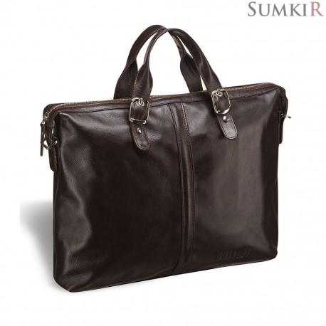 Brialdi Denver (Денвер) brown Деловая сумка