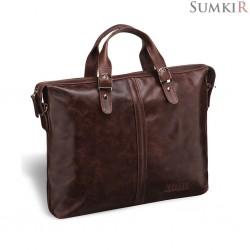 Brialdi Denver (Денвер) antique brown Деловая сумка