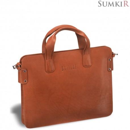 Brialdi Loano (Лоано) red Деловая сумка SLIM-формата