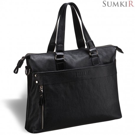 Brialdi Stockton (Стоктон) black Деловая сумка