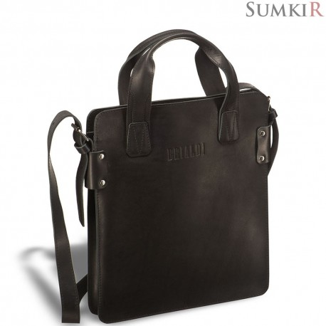 Brialdi Catania (Катания) black Деловая сумка SLIM-формата