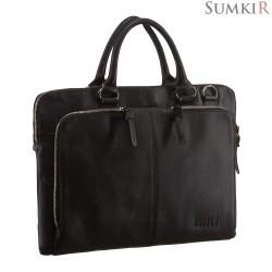 Brialdi Sydney (Сидней) black Деловая сумка