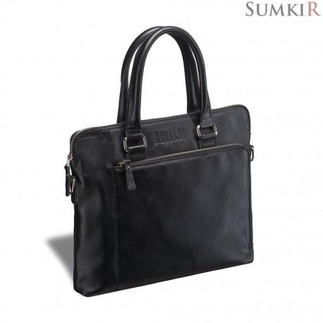 Brialdi Leicester (Лестер) black Деловая сумка