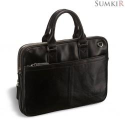 Brialdi Caorle (Каорле) black Деловая сумка