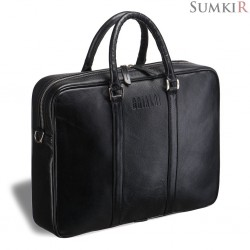 Brialdi Borno (Борно) black Деловая сумка
