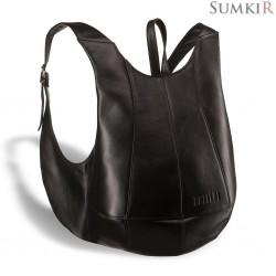 Brialdi Scorpion (Скорпион) black Кожаный рюкзак