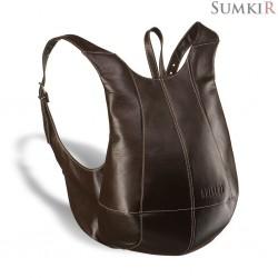 Brialdi Scorpion (Скорпион) brown Кожаный рюкзак