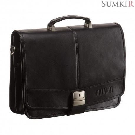 Brialdi Portofino (Портофино) black Классический портфель