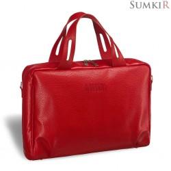 Brialdi Elche (Эльче) red Женская деловая сумка