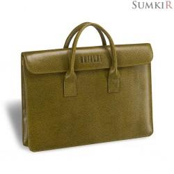 Brialdi Vigo (Виго) relief mustard Женская деловая сумка