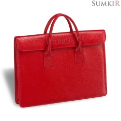 Brialdi Vigo (Виго) relief red Женская деловая сумка