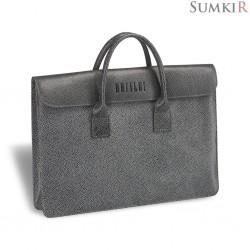 Brialdi Vigo (Виго) relief grey Женская деловая сумка