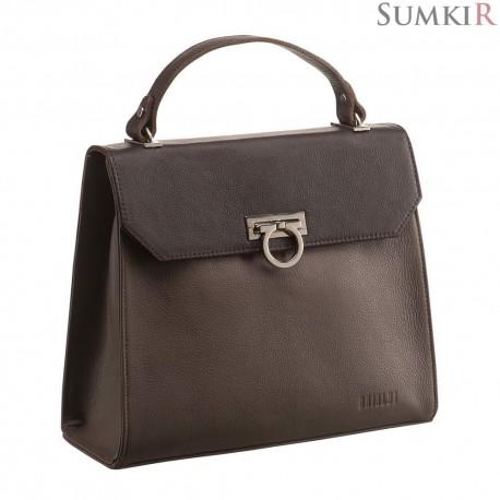 Brialdi Visalia (Визалия) mocco Деловая женская сумочка