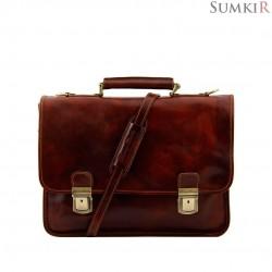 TL10028 Tuscany Firenze - Кожаный портфель для ноутбука