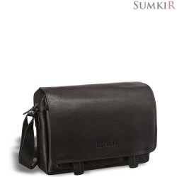 Brialdi Liguria (Лигурия) black Кожаная сумка через плечо