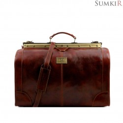 TL1022 Tuscany Madrid - Кожаная сумка Gladstone большой размер