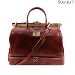 TL141185 Tuscany Barcelona - Кожаная сумка Gladstone с двойным дном