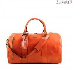 TL141217 Tuscany TL Voyager - Эксклюзивная дорожная кожаная сумка Duffl bag