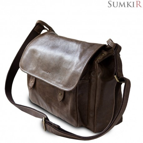 Hadley Shelton Brown Дорожная мужская сумка