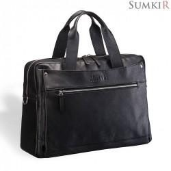 Brialdi Calabria (Калабрия) black edition Деловая сумка
