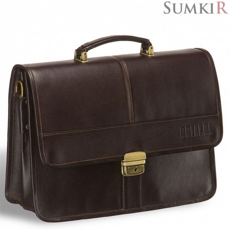 Brialdi Prato (Прато) brown Классический портфель