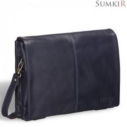 Brialdi Chelsea (Челси) black Кожаная сумка через плечо