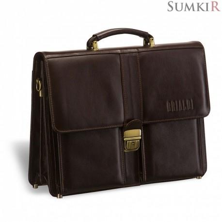 Brialdi Asti (Асти) brown Классический портфель