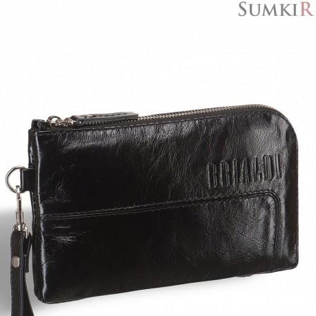 Brialdi Mobile (Мобил) shiny black Мужской клатч