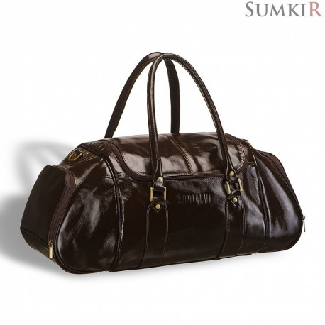 Brialdi Modena (Модена) shiny brown Дорожная сумка