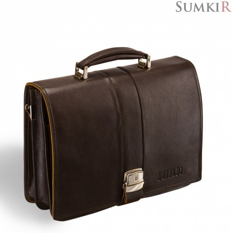 Brialdi Pavia (Павия) brown Классический портфель