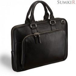 Briadli Fairfaxe (Фэррфакс) black Деловая сумка