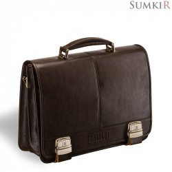 Brialdi Siracusa (Сиракуза) brown Классический портфель