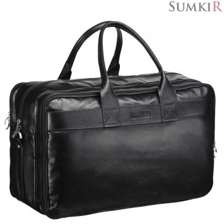 Brialdi Lancaster (Ланкастер) black Дорожная сумка с портпледом