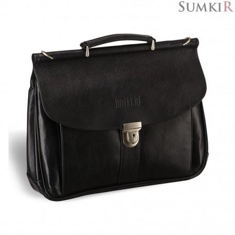 Brialdi Bergamo (Бергамо) black Классический портфель
