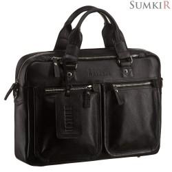 Brialdi Parma (Парма) black Деловая сумка для документов